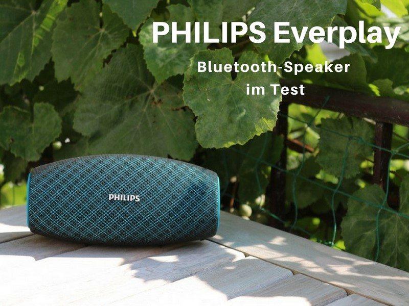 PHILIPS EverPlay Bluetooth-Lautsprecher im Test