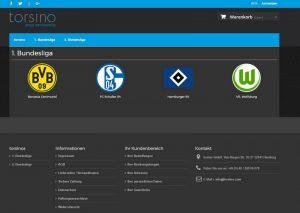 torsino® - Das Wohnaccessoire für echte Fußballfans