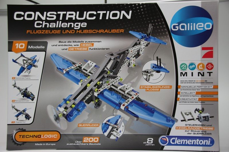 Clementoni CONSTRUCTION Challenge Bausatz im Test