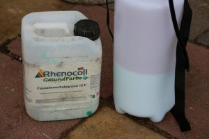 Rhenocoll GesundFarbe - Fassade streichen wie Profis