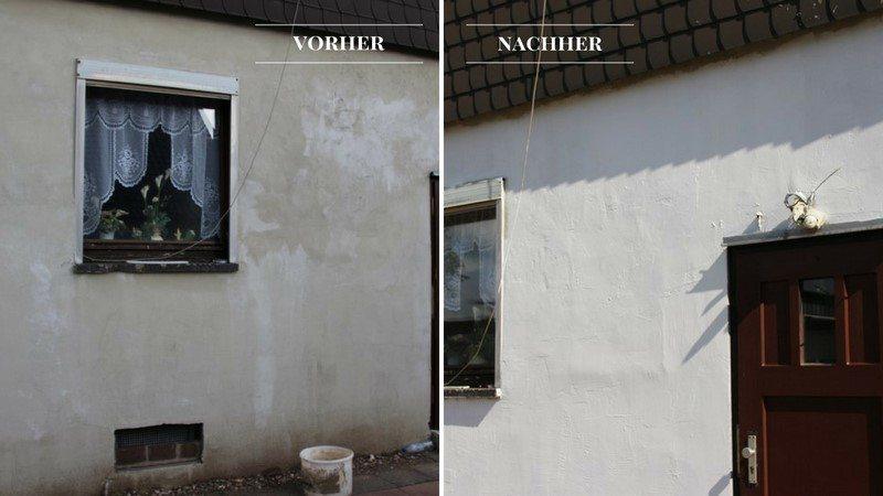 Rhenocoll Gesundfarbe Fassade Streichen Wie Profis