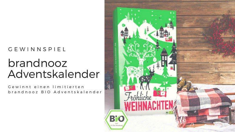 brandnooz BIO Adventskalender Gewinnspiel