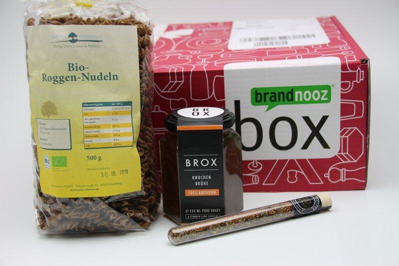 brandnooz Genuss Box September 2017 vorgestellt