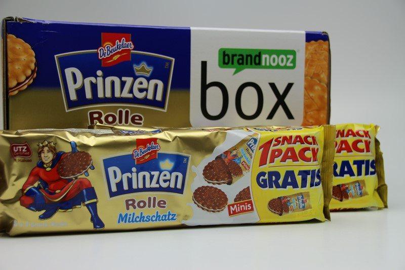brandnooz Prinzen Rolle Markenbox vorgestellt