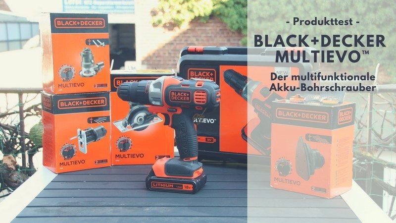 black decker multievo multifunktions akku bohrschrauber. Black Bedroom Furniture Sets. Home Design Ideas
