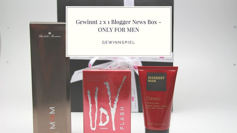 Blogger News Box - ONLY FOR MEN vorgestellt
