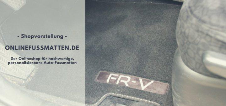 Onlinefussmatten.de - Endlich neue, passende Fußmatten für unsere dicke Berta