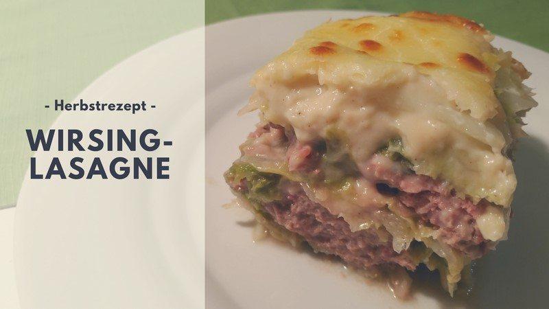Rezept: Wirsing-Lasagne