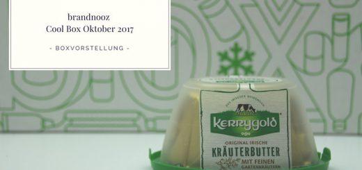 brandnooz Cool Box Oktober 2017 vorgestellt