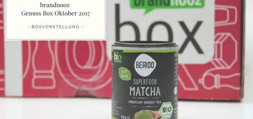 brandnooz Genuss Box Oktober 2017 vorgestellt