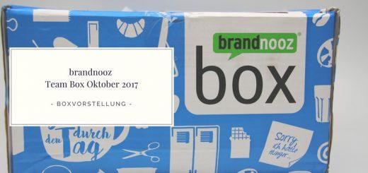 brandnooz Team Box Oktober 2017 vorgestellt