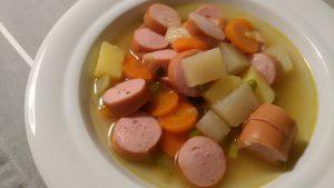 Rezept: Bunte Gemüsesuppe nach Muddi