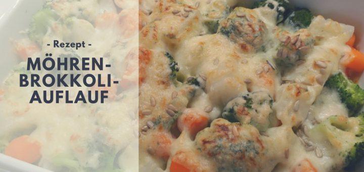 Rezept: Möhren-Brokkoli-Auflauf