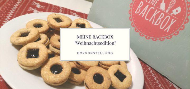 """MEINE BACKBOX """"Weihnachtsedition"""" vorgestellt"""