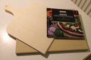 #benehacks® PIZZA PROPRIA Pizzastein Set - Pizza wie vom Italiener