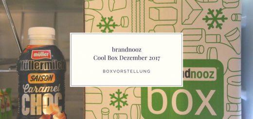 brandnooz Cool Box Dezember 2017 vorgestellt