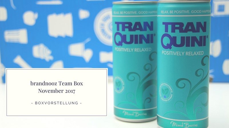 brandnooz Team Box November 2017 vorgestellt