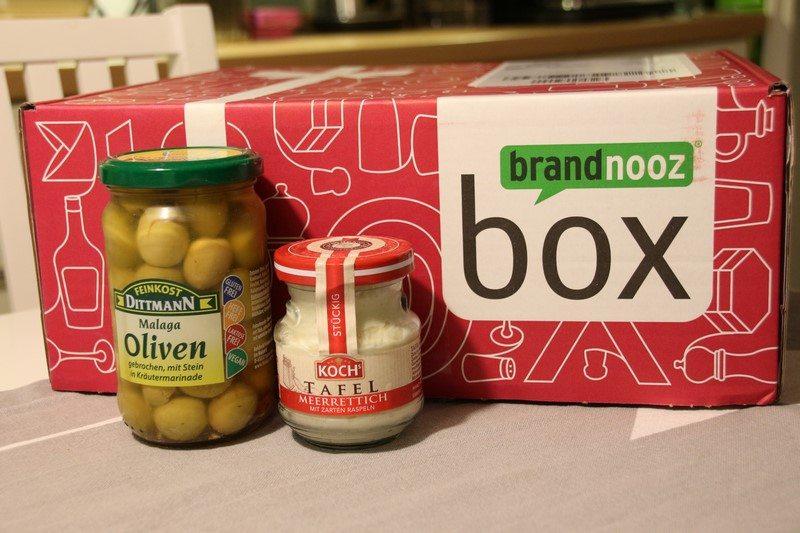 brandnooz Genuss Box Dezember 2017 vorgestellt