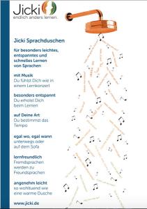 Jicki Sprachdusche - Eine Sprachlern-App im Test
