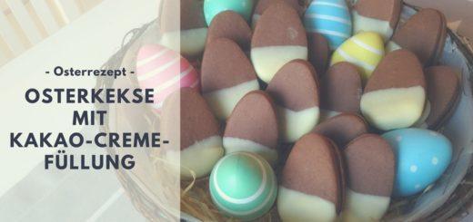 Rezept: Osterkekse mit Kakao-Creme-Füllung