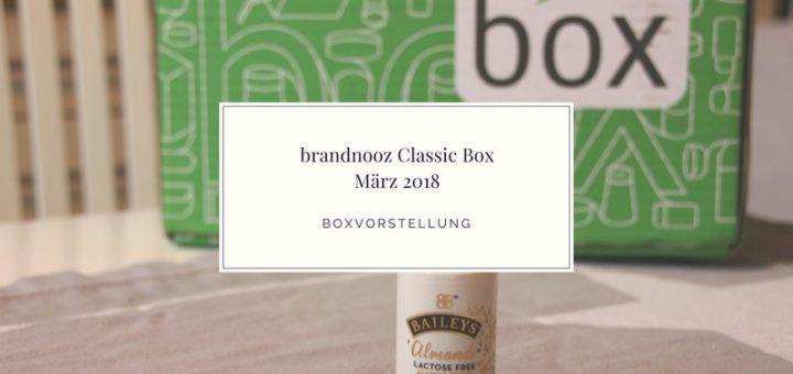 brandnooz Box März 2018 vorgestellt