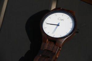 Cari Watches - Armbanduhren aus Holz im Test