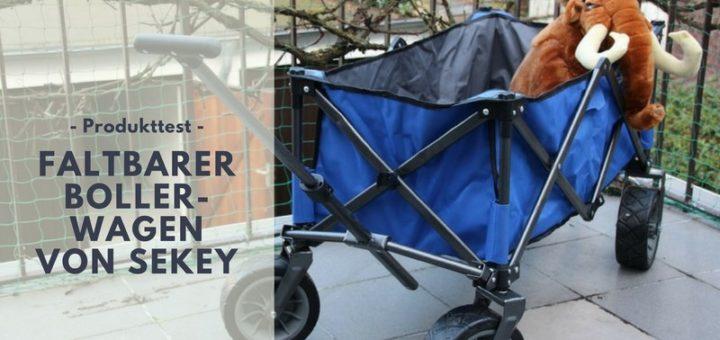 Faltbarer Bollerwagen von Sekey im Test