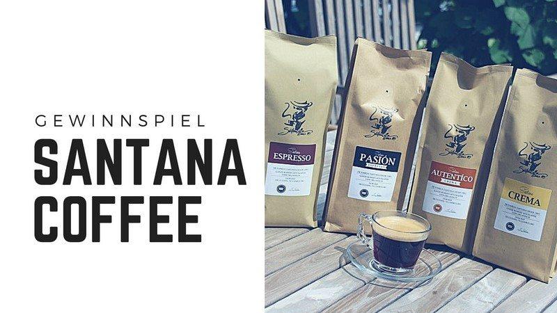 Santana Coffee Gewinnspiel