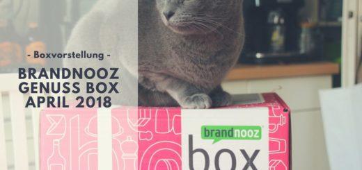 brandnooz Genuss Box April 2018 vorgestellt