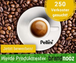250 Tester für PELLINI Premiumespresso gesucht