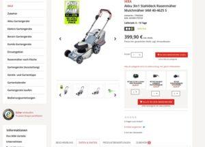 3-in-1 - IKRA Website Produktbeschreibung 300x215 - IKRA 3-in-1 Akku-Rasenmäher IAM 40-4625 S im Test