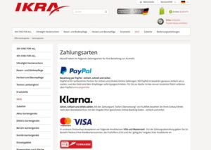 3-in-1 - IKRA Website Zahlungsarten 300x213 - IKRA 3-in-1 Akku-Rasenmäher IAM 40-4625 S im Test