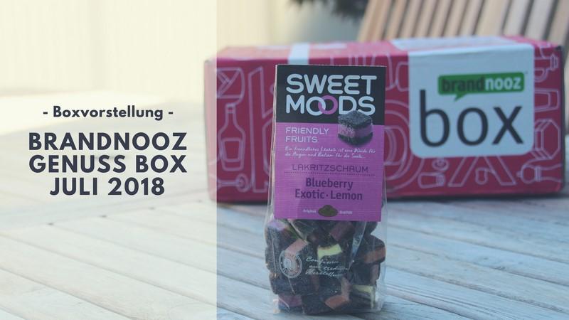 brandnooz Genuss Box Juli 2018 vorgestellt
