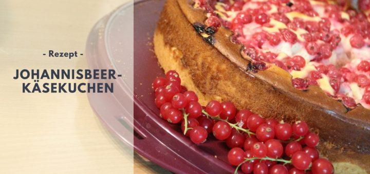 Rezept: Johannisbeer-Käsekuchen
