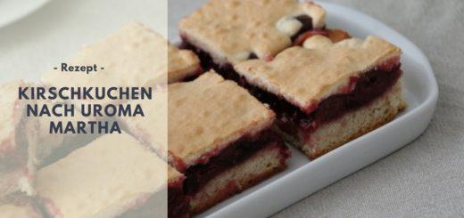 Rezept: Kirschkuchen nach Uroma Martha