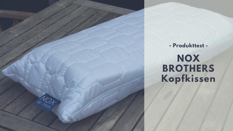 variables nox brothers kopfkissen im test. Black Bedroom Furniture Sets. Home Design Ideas