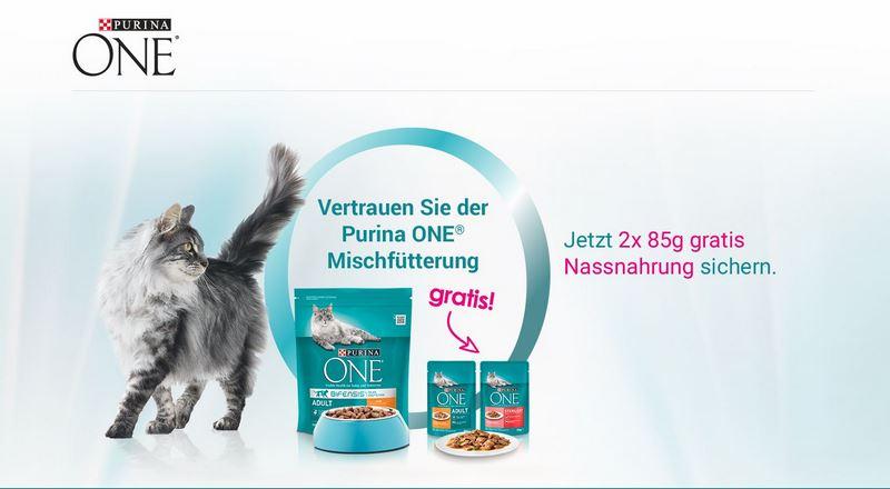 - Purina ONE Mischf tterung Kampagne - Optimale Mischfütterung mit Purina ONE