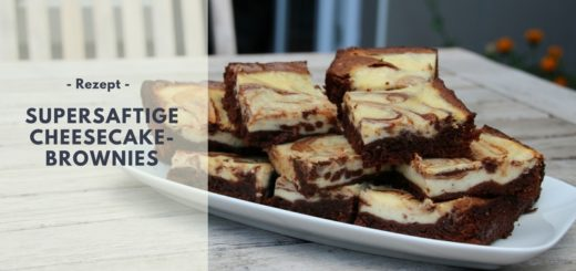 Rezept: supersaftige Cheesecake-Brownies