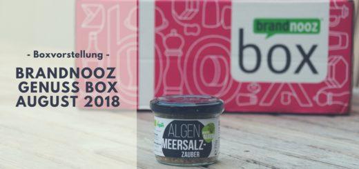 brandnooz Genuss Box August 2018 vorgestellt
