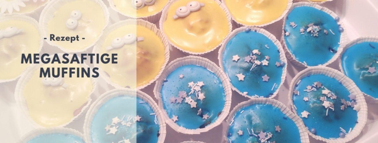 Rezept: Megasaftige & fluffige Muffins