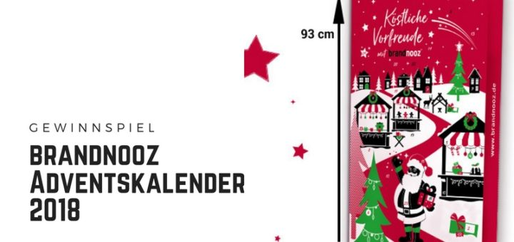 brandnooz Adventskalender 2018