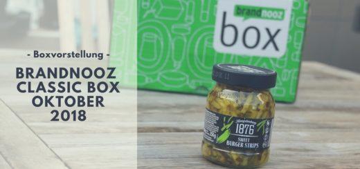 brandnooz Box Oktober 2018 vorgestellt