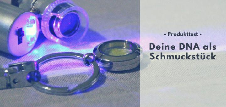 Schmuck von Deine-DNA.de - Personalisierte Geschenkidee vorgestellt