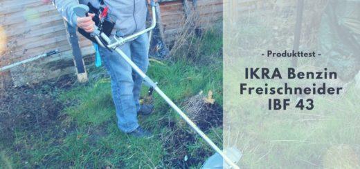 IKRA Benzin Freischneider IBF 43 im Test