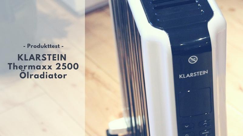 KLARSTEIN Thermaxx 2500 Ölradiator im Test
