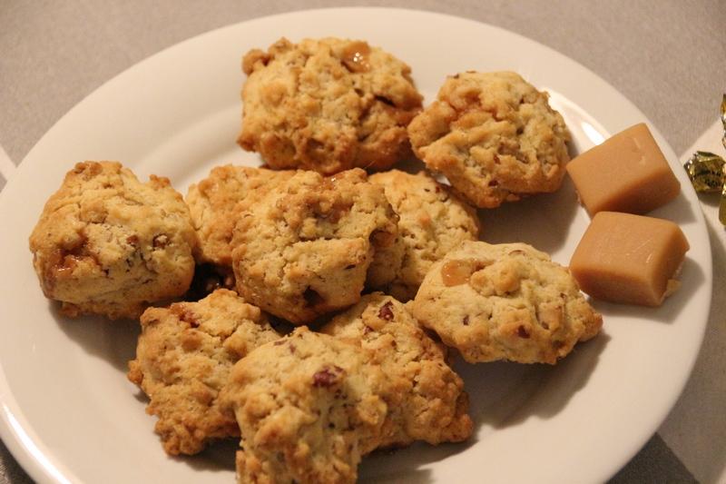 Karamell-Pecanuss-Cookies