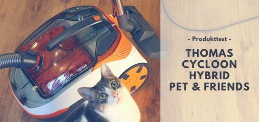 THOMAS CYCLOON HYBRID PET & FRIENDS - Tierhaare adé