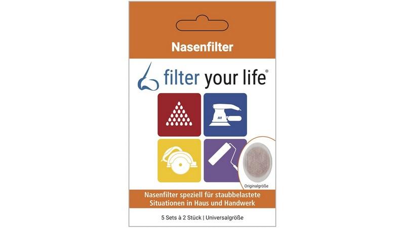 Filter your Life® Nasenfilter