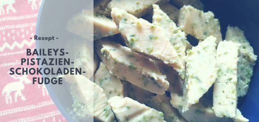 Rezept: Baileys-Pistazien-Schokoladen-Fudge