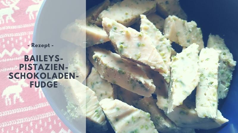 Baileys-Pistazien-Schokoladen-Fudge